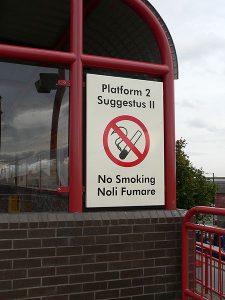 イギリスにあるラテン語の標識