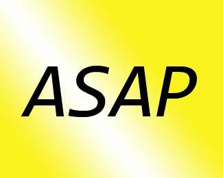 ASAP の意味と使い方  ー  この略語は偉そうな印象を与えるでしょうか?