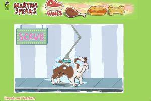 犬を洗うゲーム