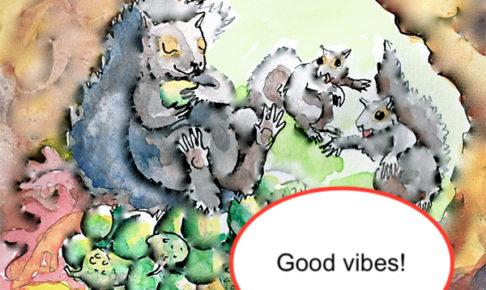good vibesはどういう意味でしょうか?